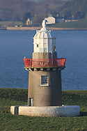 Lighthouse at Rosses Point during Round 4 of The West of Ireland Open Championship in Co. Sligo Golf Club, Rosses Point, Sligo on Sunday 7th April 2019.<br /> Picture:  Thos Caffrey / www.golffile.ie