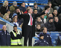 Photo: Lee Earle.<br /> Chelsea v Middlesbrough. The Barclays Premiership.<br /> 03/12/2005. Middlesbrough manager Steve McClaren shows his frustration.
