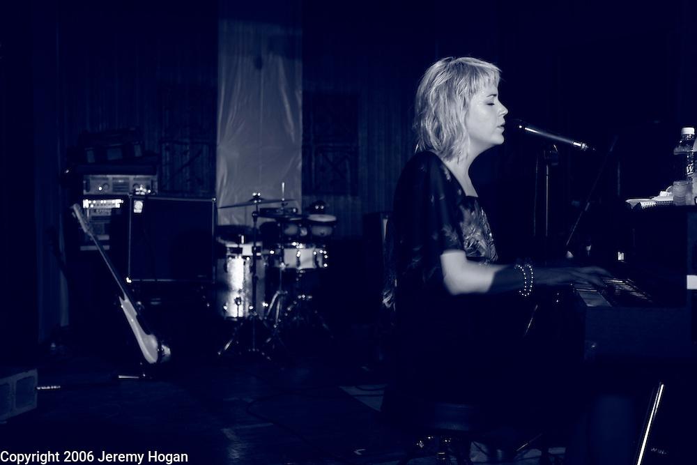 Swedish singer songwriter Frida Hyvönen performs at Second Story Nightclub in Bloomington, Indiana.