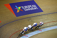 Men Team Pursuit, Great Britain, during the Track Cycling European Championships Glasgow 2018, at Sir Chris Hoy Velodrome, in Glasgow, Great Britain, Day 1, on August 2, 2018 - Photo Luca Bettini / BettiniPhoto / ProSportsImages / DPPI - Belgium out, Spain out, Italy out, Netherlands out -