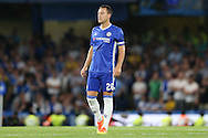 John Terry, the Chelsea captain looks on. EFL Cup 2nd round match, Chelsea v Bristol Rovers at Stamford Bridge in London on Tuesday 23rd August 2016.<br /> pic by John Patrick Fletcher, Andrew Orchard sports photography.
