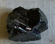 Modified pseudo cubic crystal Itabira, Minas Gerals, Brazil.