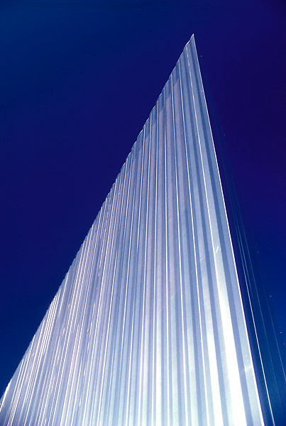 Stock photo of the exterior architecture of the Contemporary Art Museum Houston, Texas