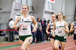 womens Mile, heat 1, Dartmouth,  <br /> BU John Terrier Classic <br /> Indoor Track & Field Meet