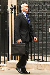 Downing Sreet, London, July14th 2015. Iain Duncan Smith - Secretary of State for Work and Pensions arrives at 10 Downing street for the government's weekly cabinet meeting.