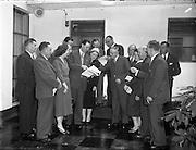 13/11/1956<br /> 11/13/1956<br /> 13 November 1956<br /> <br /> RG Data National Convention at Gresham Hotel