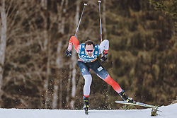 03.03.2021, Oberstdorf, GER, FIS Weltmeisterschaften Ski Nordisch, Oberstdorf 2021, Herren, Langlauf, 15 km Freestyle, im Bild Hans Christer Holund (NOR) // Hans Christer Holund of Norway during men Cross Country 15 km freestyle competition of the FIS Nordic Ski World Championships 2021 in Oberstdorf, Germany on 2021/03/03. EXPA Pictures © 2021, PhotoCredit: EXPA/ Dominik Angerer