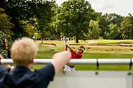 01-09-2016 Golffoto's van het Nationaal Open op de Hilversumsche Golf Club in Hilversum. Finale.  Ruben Wechgelaer