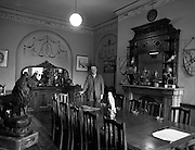 21/09/1960<br /> 09/21/1960<br /> 21 September 1960<br /> Football Association of Ireland Headquarters, 80 Merrion Square, Dublin. Mr Joe Wickham, Secretary of the Football Association of Ireland in the Council Room.