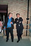 JULIAN BANNERMAN; FRANCESCO BOGLIONE;, Early launch of Rupert's. Robin Birley  new premises in Shepherd Market. 6 Hertford St. London. 10 June 2010. .-DO NOT ARCHIVE-© Copyright Photograph by Dafydd Jones. 248 Clapham Rd. London SW9 0PZ. Tel 0207 820 0771. www.dafjones.com.