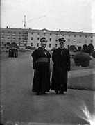 09/10/1956<br /> 10/09/1956<br /> 09 October 1956<br /> <br /> Bishops October Meeting at Maynooth<br /> <br /> <br /> Dr Farren, Bishop of Derry (left)