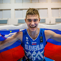 20190801: GRE, Basketball - FIBA U18 European Championship Volos 2019, Great Britain vs Slovenia