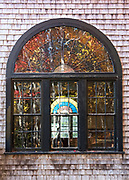 Window 3 on plan. <br /> <br /> Otter Creek Hall, Otter Creek, Maine. Completed 1904.