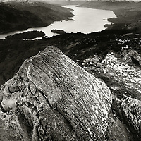 Loch Katrine from the summit of Ben A'an