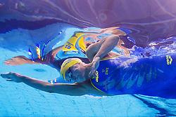 July 27, 2017 - Budapest, UNGERN - 170727 Sveriges Sarah Sjöström och USA:s Simone Manuel tävlar i semifinalen pÃ¥ 100 meter frisim under sim-VM den 27 juli 2017 i Budapest  (Credit Image: © Joel Marklund/Bildbyran via ZUMA Wire)