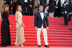 Sophia Rose Stallone, Sylvester Stallone and Jennifer Flavin arriving on the red carpet for the Closing Ceremony and 'The Specials (Hors normes)' screening held at the Palais Des Festivals in Cannes, France on May 25, 2019 as part of the 72th Cannes Film Festival. Photo by Nicolas Genin/ABACAPRESS.COM