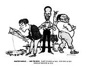 Master Harold...and the Boys. Duart Sylwain as Hally, John Kani as Sam, Ramolao Makhene as Willy