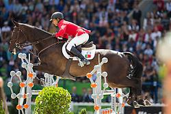 Frederico Mexia de Almeide, (POR), Play The Joker - Jumping Eventing - Alltech FEI World Equestrian Games™ 2014 - Normandy, France.<br /> © Hippo Foto Team - Leanjo De Koster<br /> 31-08-14