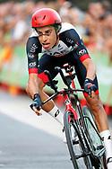 Fabio Aru (ITA - UAE Team Emirates) during the UCI World Tour, Tour of Spain (Vuelta) 2018, Stage 1, individual time trial, Malaga - Malaga (8km) in Spain, on August 26th, 2018 - Photo Luis Angel Gomez / BettiniPhoto / ProSportsImages / DPPI