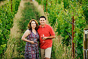 Sara and Dave Specter of Bells Up Winery