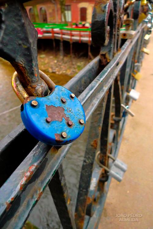 Lock at Villnius bridge