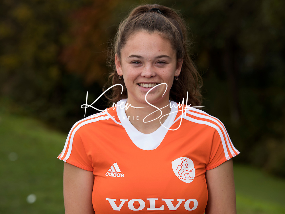 UTRECHT - CARMEN WIJS. Jong Oranje hockey meisjes -21. COPYRIGHT KOEN SUYK