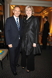 THERESA MAY MP and GRAHAM BOYES MD Veuve Clicquot UK at the Veuve Clicquot Business Woman Award held at The Berkeley Hotel, London on 8th April 2008.<br />