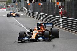May 23, 2019 - Monte Carlo, Monaco - xa9; Photo4 / LaPresse.22/05/2019 Monte Carlo, Monaco.Sport .Grand Prix Formula One Monaco 2019.In the pic: Carlos Sainz Jr (ESP) Mclaren F1 Team MCL34 (Credit Image: © Photo4/Lapresse via ZUMA Press)