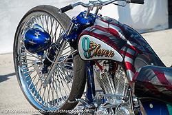 Custom Harley-Davidsons at the Rat's Hole Bike Show during the 2015 Biketoberfest Rally. Daytona Beach, FL, USA. October 17, 2015.  Photography ©2015 Michael Lichter.