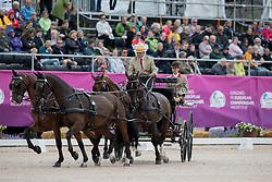 Timmerman Theo, NED, Balero, Boy, Dakota, Esprit, Mister<br /> FEI European Driving Championships - Goteborg 2017 <br /> © Hippo Foto - Stefan Lafrenz
