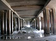 Under the pier, Atlantic City
