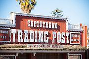 Ortega's Capistrano Trading Post On Camino Capistrano In San Juan