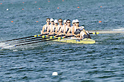 Munich, GERMANY, GBR W8X . Bow, Oliva WHITLAM, Carla ASHFORD, Alice FREEMAN, Lousa REEVE, Beth RODFORD, Natasha PAGE, Katie GREVES stroke Jessics Jane EDDIE and cox Caroline O'CONNER  At the start, during the FISA World Cup at the Munich Olympic Rowing Course, Thur's.  08.05.2008  [Mandatory Credit Peter Spurrier/ Intersport Images] Rowing Course, Olympic Regatta Rowing Course, Munich, GERMANY