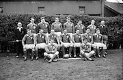 Irish Rugby Football Union, Ireland v France, Five Nations, Landsdowne Road, Dublin, Ireland, Saturday 15th April, 1967,.15.4.1967, 4.15.1967,..Referee- R P Burrell, Scottish Rugby Union, ..Score- Ireland 6- 11 France, ..Irish Team, ..T J Kiernan,  Wearing number 15 Irish jersey, Full Back, Cork Constitution Rugby Football Club, Cork, Ireland,..R D Scott, Wearing number 14 Irish jersey, Right Wing, Queens University Rugby Football Club, Belfast, Northern Ireland, ..F P K Bresnihan, Wearing number 13 Irish jersey, Right Centre, University College Dublin Rugby Football Club, Dublin, Ireland, ..J C Walsh,  Wearing number 12 Irish jersey, Left Centre, Sundays Well Rugby Football Club, Cork, Ireland, ..N H Brophy, Wearing number 11 Irish jersey, Left wing, Blackrock College Rugby Football Club, Dublin, Ireland, ..C M H Gibson, Wearing number 10 Irish jersey, Stand Off, N.I.F.C, Rugby Football Club, Belfast, Northern Ireland, ..R M Young, Wearing number 9 Irish jersey, Scrum Half, Queens University Rugby Football Club, Belfast, Northern Ireland,..K G Goodall, Wearing number 8 Irish jersey, Forward, Newcastle University Rugby Football Club, Newcastle, England, ..M G Doyle, Wearing number 7 Irish jersey, Forward, Edinburgh Wanderers Rugby Football Club, Edinburgh, Scotland, ..N A Murphy, Wearing number 6 Irish jersey, Captain of the Irish team, Forward, Cork Constitution Rugby Football Club, Cork, Ireland,..M G Molloy, Wearing number 5 Irish jersey, Forward, University College Galway Rugby Football Club, Galway, Ireland,  ..W J McBride, Wearing number 4 Irish jersey, Forward, Ballymena Rugby Football Club, Antrim, Northern Ireland,..S A Hutton, Wearing number 3 Irish jersey, Forward, Malone Rugby Football Club, Belfast, Northern Ireland, ..K W Kennedy, Wearing number 2 Irish jersey, Forward, C I Y M S Rugby Football Club, Belfast, Northern Ireland, ..S MacHale, Wearing number 1 Irish jersey, Forward, Landsdowne Rugby Football Club, Dublin, Ireland,.
