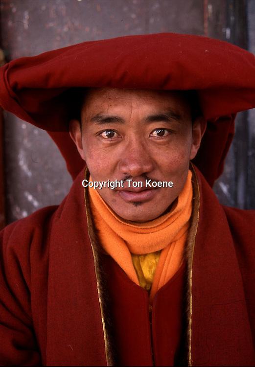 portrait of Tibetan