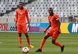Polokwane City captain Jabulani Maluleke v Cape Town City in an MTN8 quarter-final match at the Cape Town Stadium on August 12, 2017 in Cape Town, South Africa.