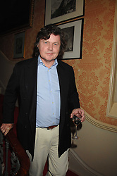 Writer RUPERT ALLASON at the engagement party of Vanessa Neumann and William Cash held at 16 Westbourne Terrace, London W2 on 15th April 2008.<br />