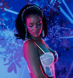 Rihanna has stripped off in a new advertising campaign for her own lingerie brand 'Savage x Fenty'