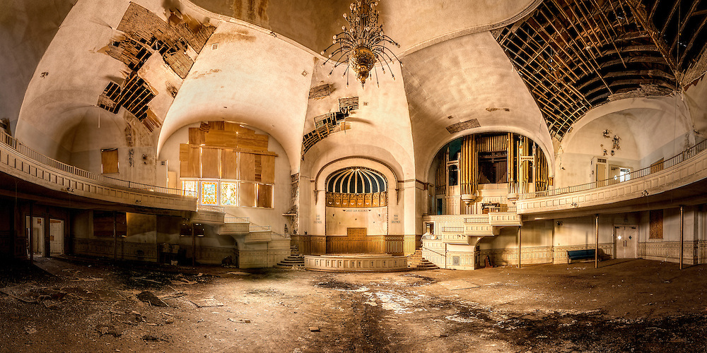 The abandoned Clayborn Temple in Memphis, TN.