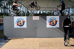 Pista de manobras radicais no Planeta Atlântida 2013/SC, que acontece nos dias 11 e 12 de janeiro no Sapiens Parque, em Florianópolis. FOTO: Jefferson Bernardes/Preview.com