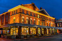 Historic Roanoke City Market, Downtown Roanoke, Virginia USA.