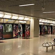Empty Subway Station, Singapore
