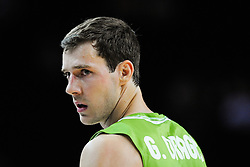 Goran Dragic of Slovenia during friendly match between National Teams of Slovenia and New Zealand before World Championship Spain 2014 on August 16, 2014 in Kaunas, Lithuania. Photo by Robertas Dackus / Sportida.com
