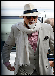 Image ©Licensed to i-Images Picture Agency. 19/06/2014. London, United Kingdom. Gary Glitter appears at Westminster Magistrates\' Court. Picture by Andrew Parsons / i-Images