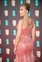 Scarlett Johansson at the 73rd British Academy Film Awards, Arrivals, Royal Albert Hall, London, UK - 02 Feb 2020
