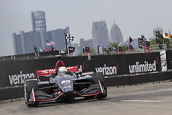 June 1, 2018 - Detroit, Michigan, United States of America - JORDAN KING (20) of England takes to the track for a practice session for the Detroit Grand Prix at Belle Isle Street Course in Detroit, Michigan. (Credit Image: © Stephen A. Arce/ASP via ZUMA Wire)