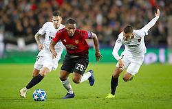 Manchester United's Antonio Valencia in action