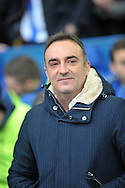 Carlos Carvahal manager of Sheffield Wednesday during the Sky Bet Championship match at Hillsborough, Sheffield  against Derby County<br /> Picture by Graham Crowther/Focus Images Ltd +44 7763 140036<br /> 06/12/2015