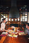 """Chef""""s Table at the Four Seasons Resort cooking school, Chiang Mai"""