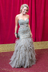 © Licensed to London News Pictures . 16/05/2015 .  The Palace Hotel , Manchester , UK . Tamara Wall . The red carpet at the 2015 British Soap Awards , The Palace Hotel , Oxford Road , Manchester . Photo credit : Joel Goodman/LNP